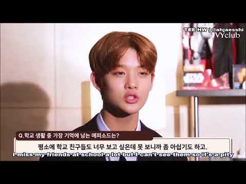 [ENG] Wanna One Bae Jinyoung - Ivy Club Interview