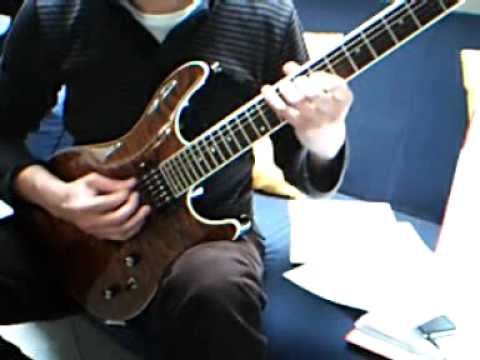 Buckethead - Big Sur Moon Lesson (How to Play / Cover) see descr.!