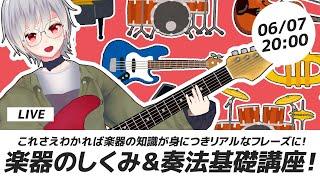【DTM】これさえ分かれば大丈夫!楽器のしくみ、奏法基礎講座【初心者向け講座 】