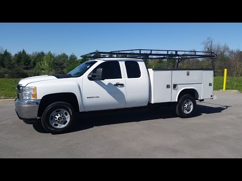 sold.2013 Chevrolet Silverado 2500 HD Extended Cab 4x4 Reading Utility Body 29k  Call 855-507-8520