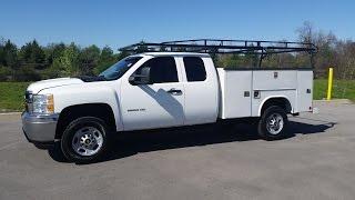 Sold.2013 Chevrolet Silverado 2500 HD Extended Cab 4x4 Reading Utility Body 29k  Call 855-507-8520
