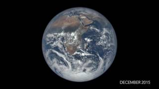One Year on Earth - Seen From 1 Million Miles