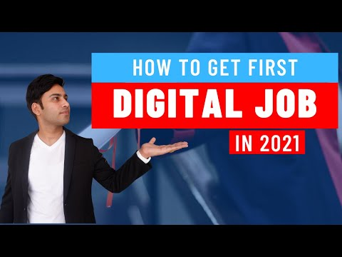 How to get Digital Marketing job in 2021