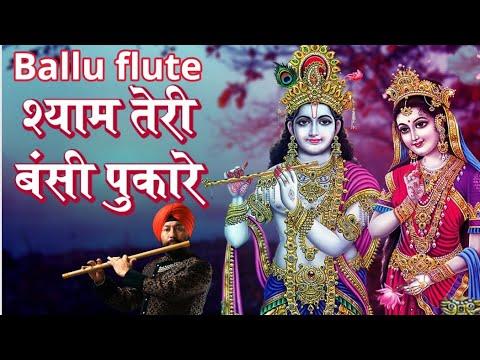 Shayam Teri bansi on flute by sardar Baljinder singh