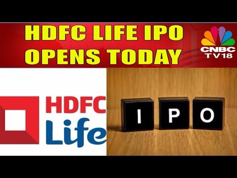 HDFC Standard Life IPO Opens Today | 8695 Crore Rs In Offer At 275-290 Rs Per Share | CNBC TV18