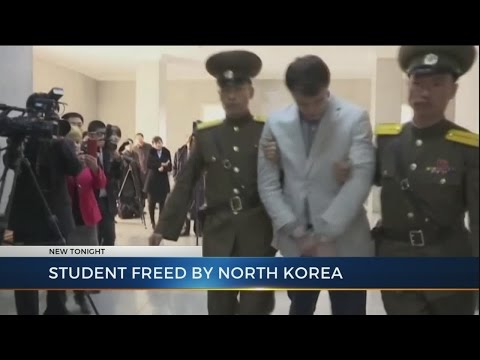 Ohio student released from North Korean prison