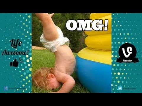 TRY NOT TO LAUGH or GRIN: Funny Kids Fails Compilation 2017 - Best Fails Vines March 2017