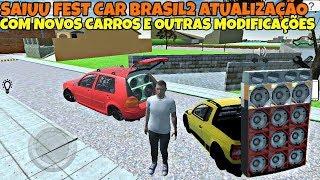 SAIU FEST CAR BRASIL NOVO JOGO DE CARROS REBAIXADOS COM SOM E OFICINA