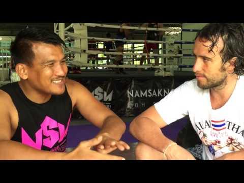 Rozhovor s legendou Muay Thai
