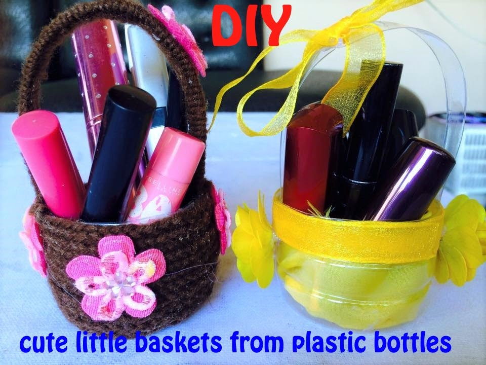 DIY How to make AWESOME MINI BASKET