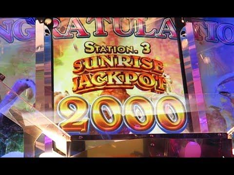 [Venus Fountain] SUNRISE JACKPOT 2000枚