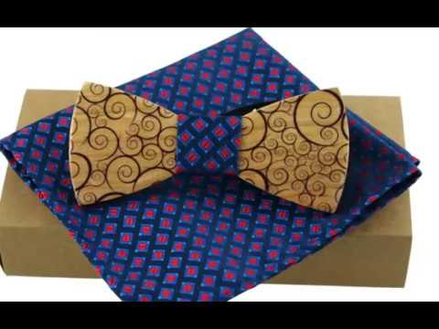 Wooden Bow Ties - Unique Handcrafted Handmade Wooden Bow Ties