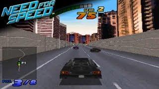 The Need For Speed - City - Lamborghini Diablo VT (PS1/PSX)