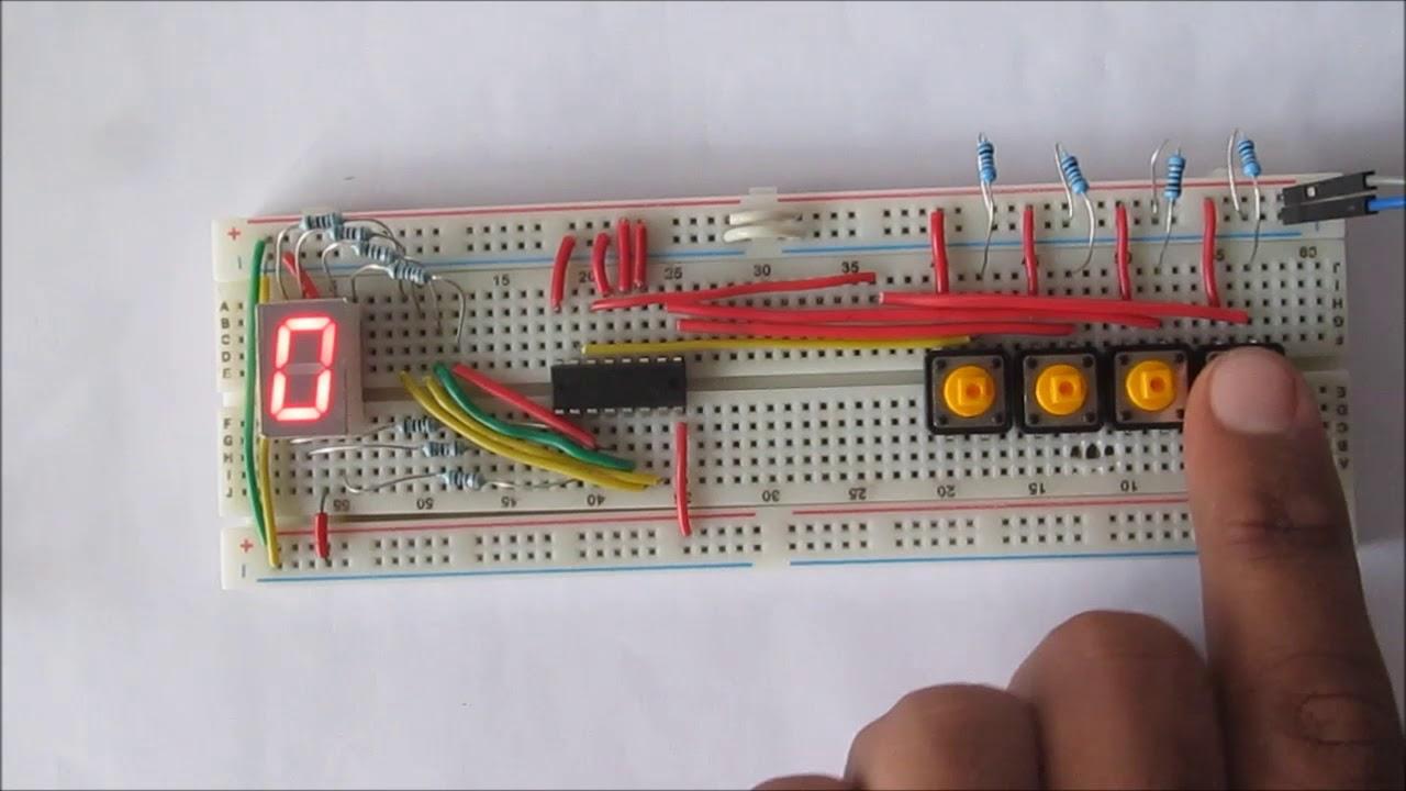 Seven-segment indicators. Practical electronics 66