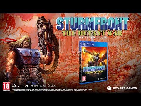 SturmFront – The Mutant War: Übel Edition, sangue e azione su PlayStation