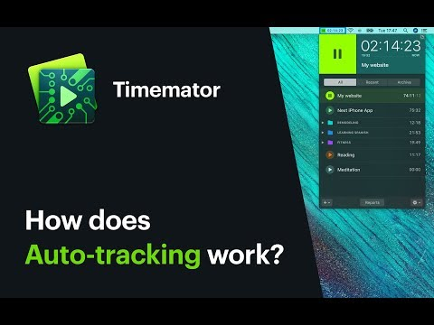 Timemator: How does Auto-tracking work?