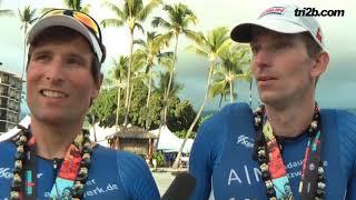 IRONMAN Hawaii 2018: Agegrouper Mathias Flunger und Michael Wetzel im Race-Interview