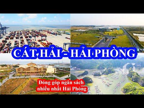 Toàn cảnh Cát Hải Hải Phòng 🔴 Huyện đóng ngân sách nhiều nhất Hải Phòng