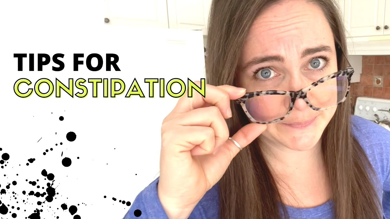 Constipation Tips