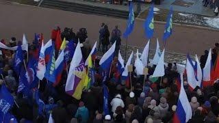 В Вологде и Череповце отпраздновали годовщину воссоединения Крыма с Россией