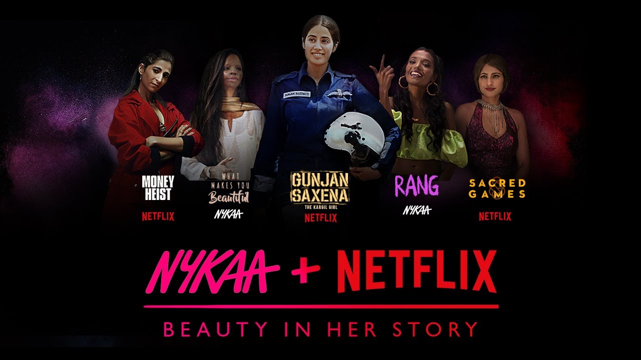 Nykaa And Netflix Collaborate To Celebrate Beauty In Her Story Business Insider India