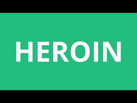How To Pronounce Heroin - Pronunciation Academy