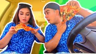 24 Horas comiendo solo pizza. Reto de comida