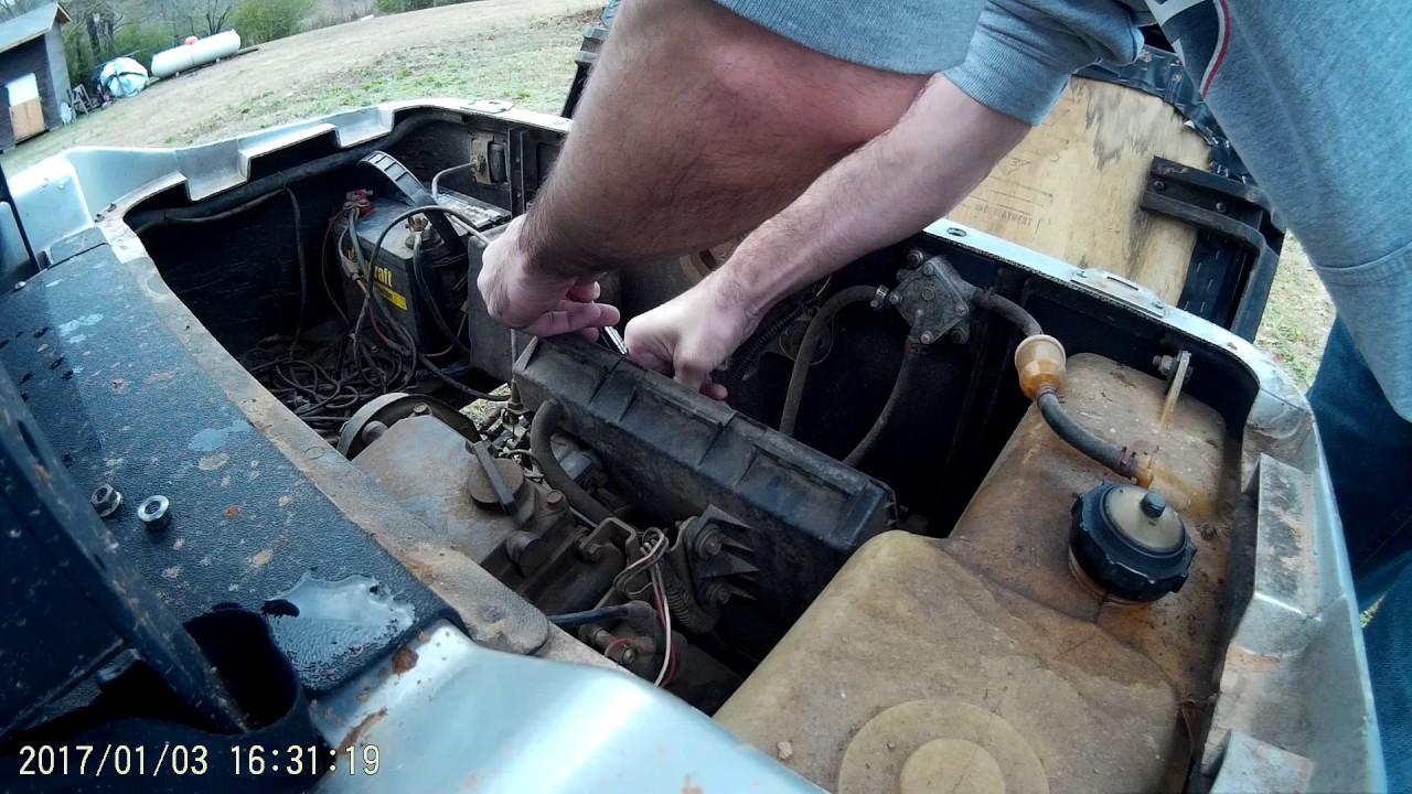 Ezgo Medalisttxt Carburetor Removal