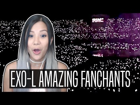 EXO-L'S AMAZING AND POWERFUL FANCHANT REACTION