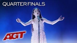 Emanne Beasha | Quarterfinals - America's Got Talent 2019 | Ebben? Ne Andro Lontana