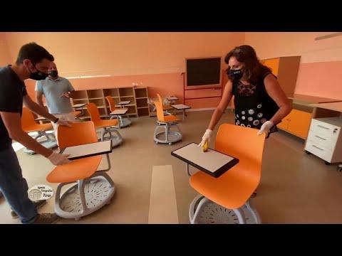 Banchi con le rotelle in Veneto: già pronta la scuola con gli alunni di Vo'
