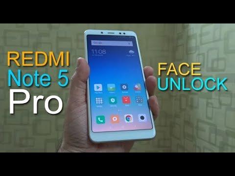 Redmi Note 5 Pro Face Unlock - watch how it works, how fast it is