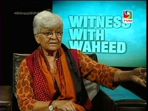 Feminist activist, #KamlaBhasin 's  One2One interview with  #WitnessWithWaheed