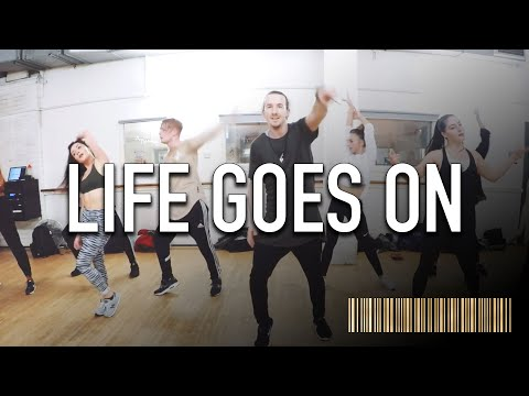LIFE GOES ON - Fergie Dance ROUTINE Video | Brendon Hansford Choreography