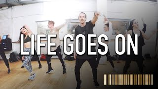 LIFE GOES ON Fergie Dance ROUTINE | Brendon Hansford Choreography
