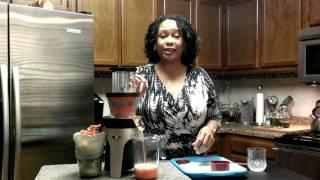 Juicing Fresh Cranberries