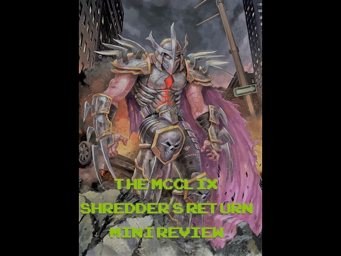 The McClix - Shredder's Return Mini Review [Heroclix]