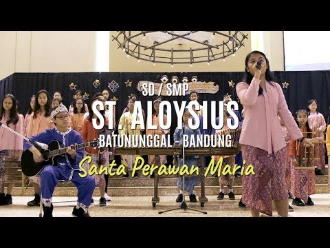 SD/SMP St. Aloysius Batununggal, Bandung - Santa Perawan Maria