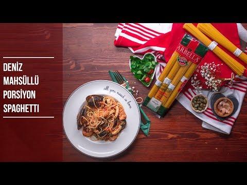 Deniz Mahsüllü Porsiyon Spaghetti