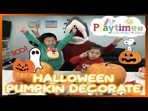 Halloween Fun Time 🎈 Playtime W. Aiden & Claire