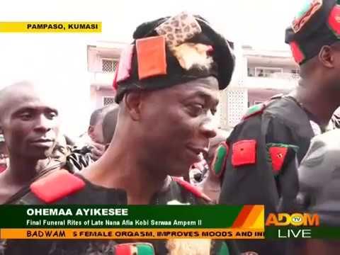 Final Funeral Rites of Late Nana Afia Kobi Serwaa Ampem II - Badwam on Adom TV (4-12-17)