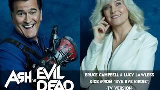 "Bruce campbell & lucy lawless - kids (from ""bye bye birdie"")"