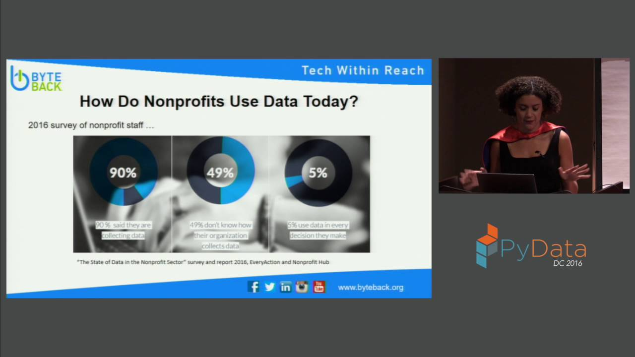 Image from Keynote: Become a Data Superhero How Data Can Change the World