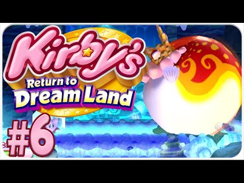 Kirby's Return to Dreamland - Extra Mode - Episode 6 - Fat Fish
