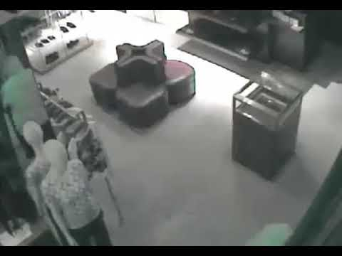 Hermes Fashion Valley Burglary Video 2