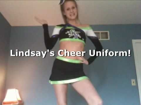 Lindsay's Cheerleading Uniform!