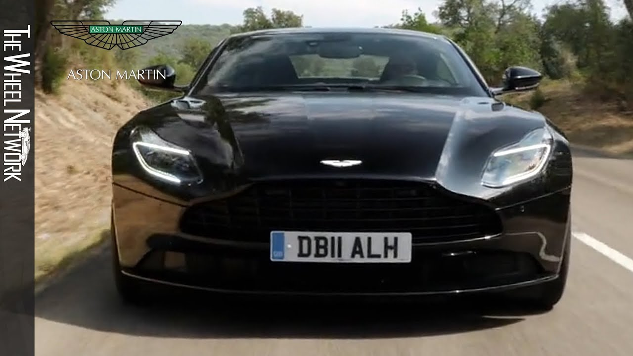 2018 Aston Martin Db11 V8 Onyx Black Driving Interior Exterior Youtube