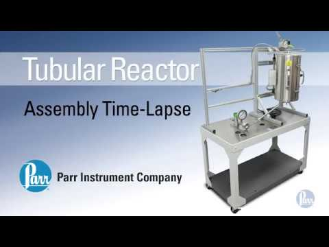 Parr Tubular Reactor Assembly Time-lapse