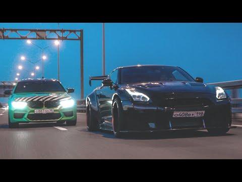 BMW M5 F90 840 СИЛ Vs Nissan GT-R 1000 СИЛ - Булкин Vs Стилов! Жёсткая заруба!