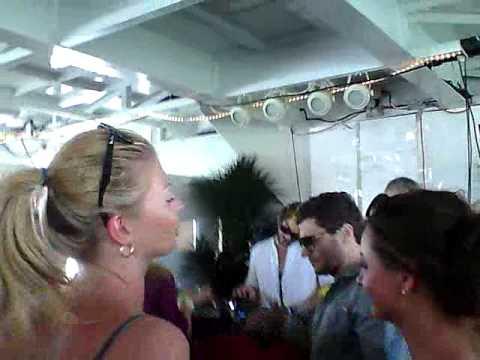 M.A.N.D.Y. (Philipp Jung) vs DJ T on Ship of Fools, Miami 3/25/12 (clip 1)